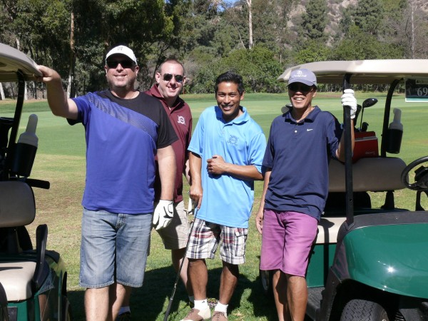 2014 St. Francis Xavier Golf Tournament at DeBell Golf Club. (Photo Courtesy of St. Francis Xavier School)