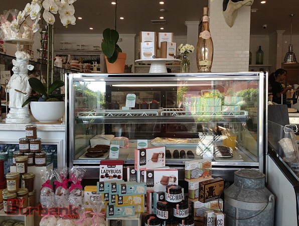 Pastries and specialty products brighten Olive & Thyme. (Photo By Lisa Paredes)