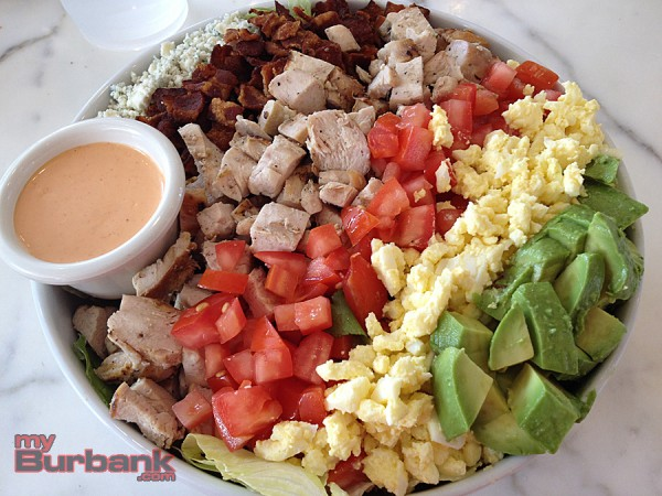 Olive & Thyme's Cobb Salad is colorful, zesty and hearty. (Photo By Lisa Paredes)