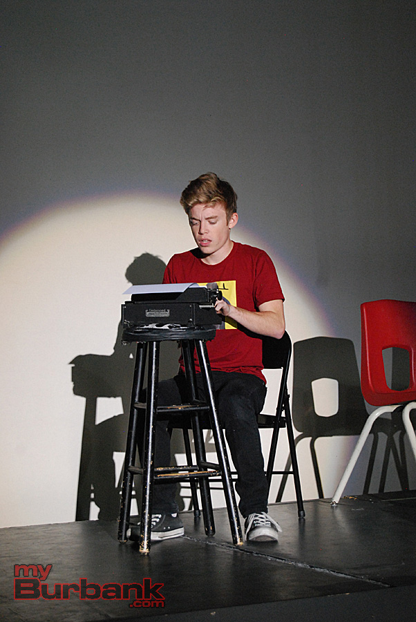 jbhs drama presents flowers for algernon com nick apostolina portrays charlie in his varying manifestations of intelligence and emotional understand in flowers