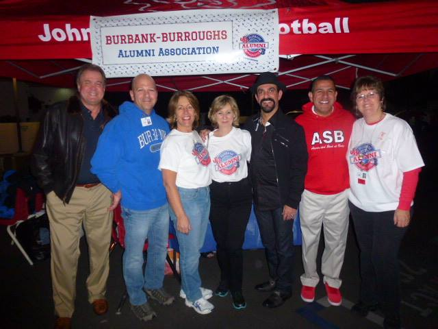 08b20a2053 Attending last year s Burbank-Burroughs Alumni Association party before the  Burbank-Burroughs football game