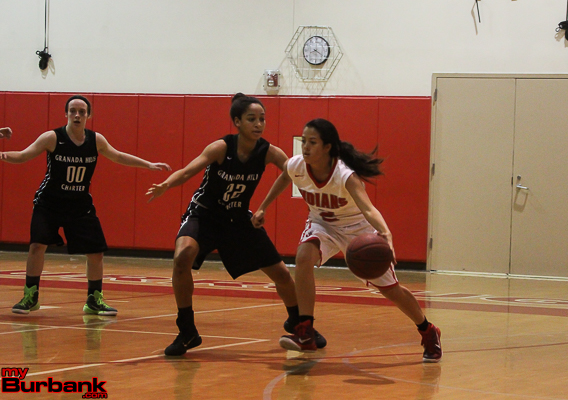 Delaney Nicol brings poise and confidence to the point guard position (Photo by Ross A. Benson)