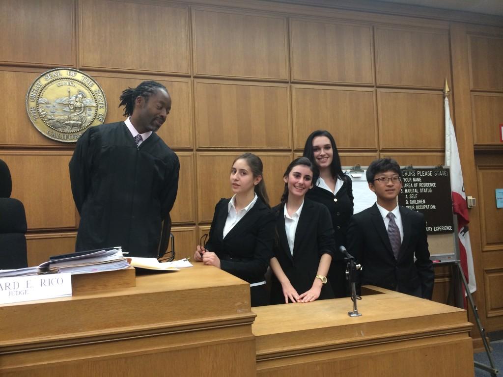 Burbank High Mock Trial