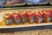 Sushi Yuzu Lemon Roll. (Photo By Lisa Paredes)