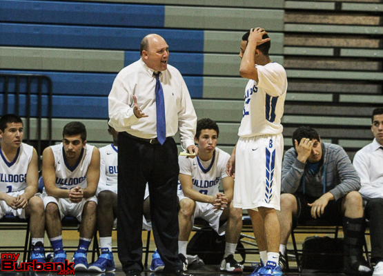 Coach Jerry DeLaurie gets the most out of his players (Photo by Ross A. Benson)