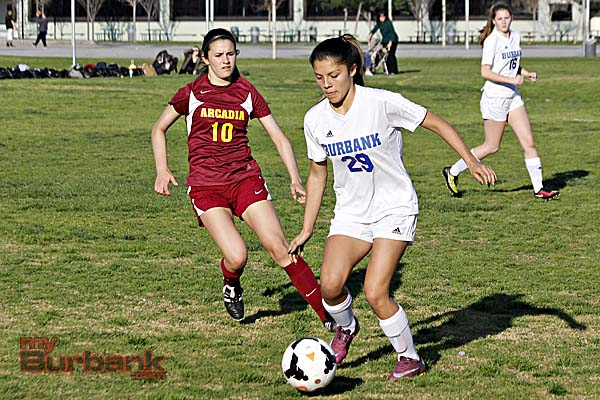Burbank had no answer for Arcadia on Tuesday (Photo By Edward Tovmassian)