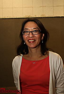 Teacher of the Year Darla Gerharter.(Photo by Ross A. Benson)