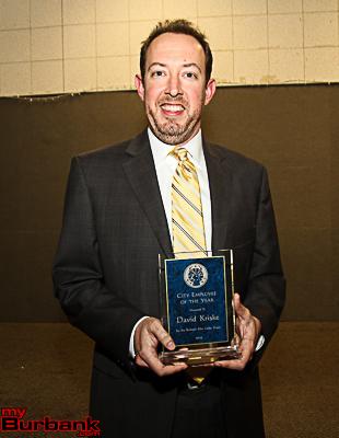 Burbank City Employee David Kriske. (Photo by Ross A. Benson)