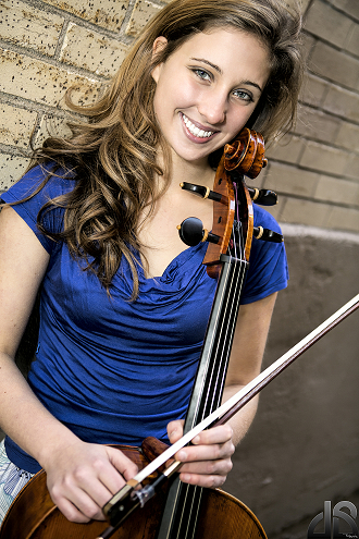 Annie Jacobs-Perkins, freshman trustee student at USC Thornton School of Music, won the 2015 Hennings-Fischer Young Artist Competition with a cello concerto. (Photo Courtesy Burbank Philharmonic Orchestra)