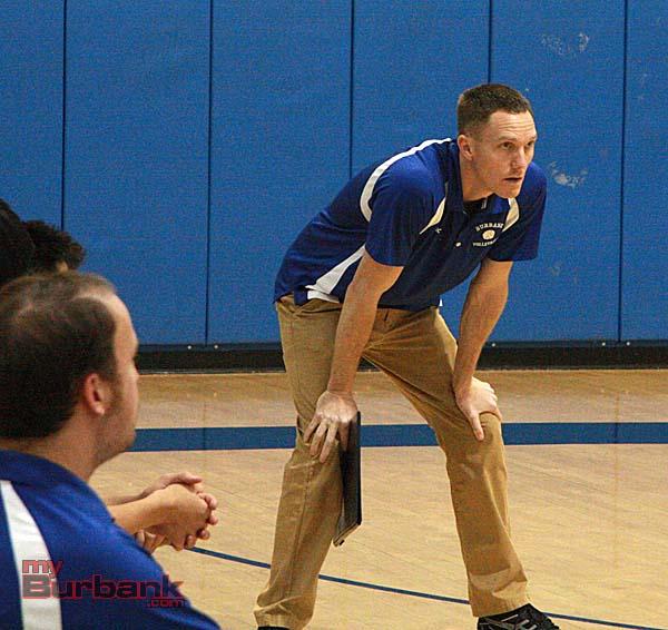 Burbank Coach Patrick McMenamin