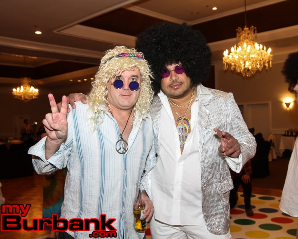 Xavier Ortiz and Jason Murtha sported the 60s look for sure. (Photo by Ross A. Benson)