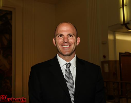 New Burbank Superintendent Matt Hill. ( Photo by Ross A. Benson)