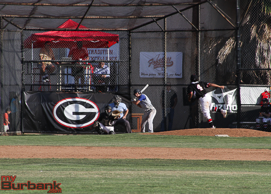 Burbank rolled a lucky seven to beat Glendale (Photo by Ross A. Benson)