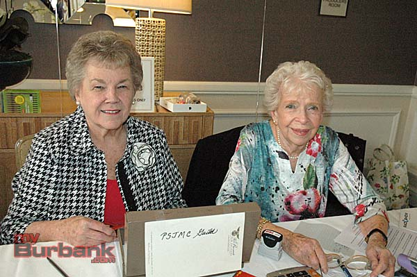 Guild volunteers are gift shop chairwoman Jackie Van Beveren, left, and member Claire Loughlin.