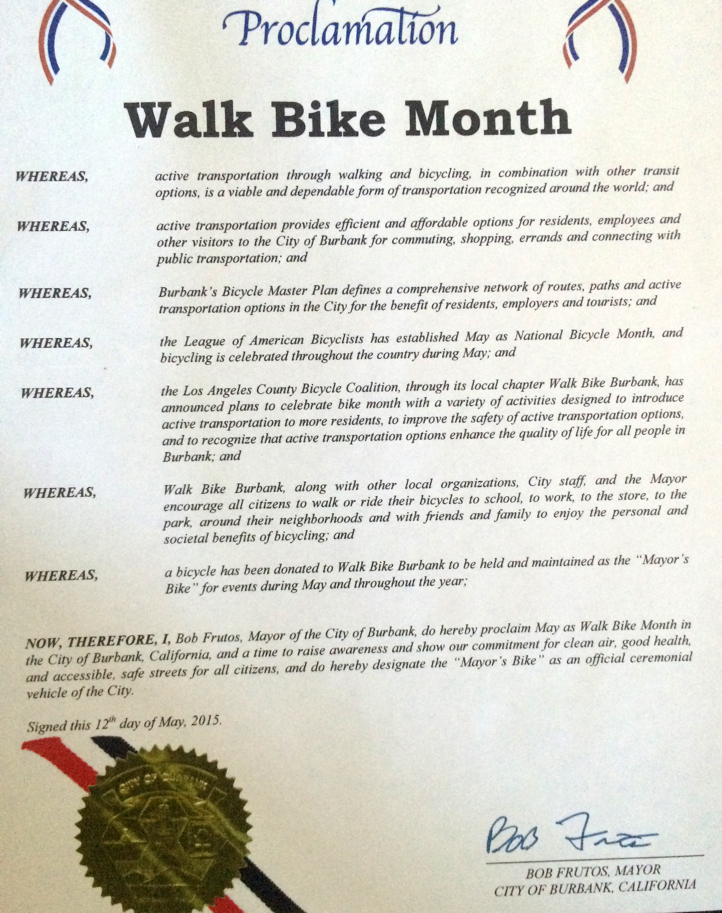 Walk Bike Proclamation-2