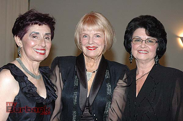 From left, Rosemarie Witten, Sue Ann Gordon and Sharon Terranova.