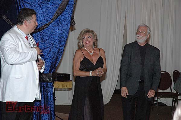 Magic Castle magicians, from left, Robert DeLa Guerra, Malena Tappan and Gerald Schiller.