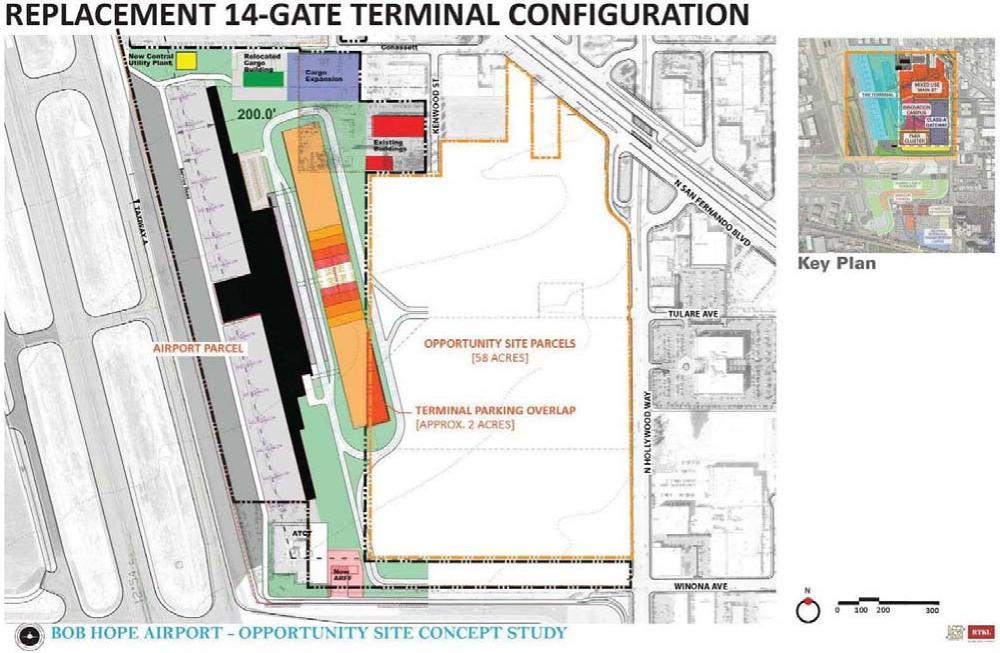 A Bob Hope Airport terminal design