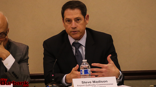 Airport Commissioner Steve Madison.( Photo by ©  Ross A. Benson)