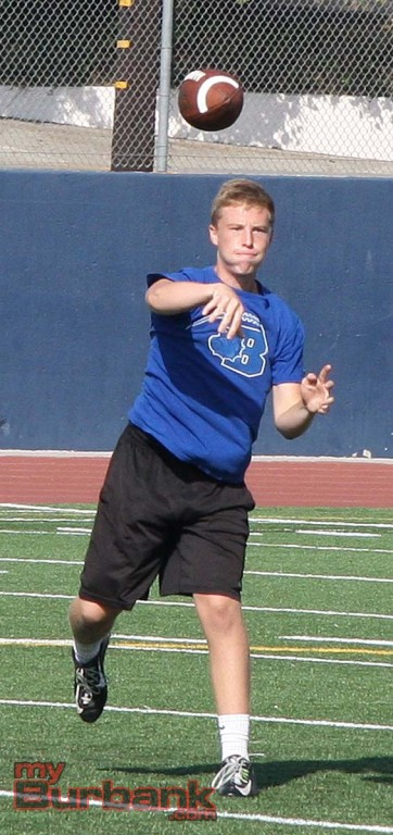 Guy Gibbs gained valuable experience a year ago at quarterback (Photo by Dick Dornan)