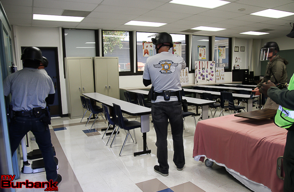 BPD Active Shooter Training  (Photo by © Ross A. Benson)BPD Active Shooter Training @ Adult School (© Ross A. Benson)