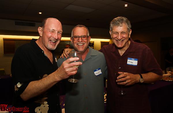 Members Peter Chernak, Glenn Feldman and Miles Kapper. (Photo by © Ross A. Benson)