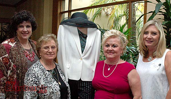 La Providencia Guild officials are, from left, Summer Meeting chair Ann O'Donnell-Gardner, thrift shop chair Lorelei Kelley, President Joan Chandler and Summer Meeting co-chair Deborah Spang. (Photos by Joyce Rudolph)