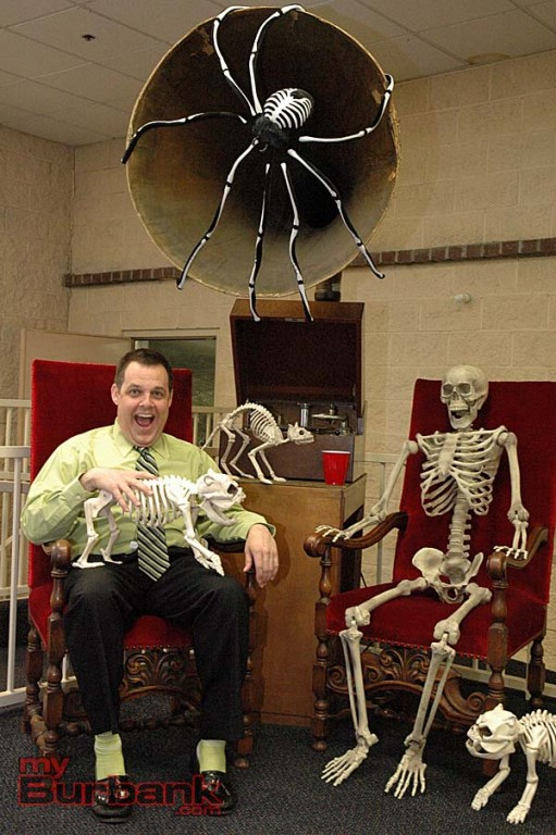 Craig Bullock toasts to a successful Halloween-themed show coming up on Saturday at the Gordon R. Howard Museum.