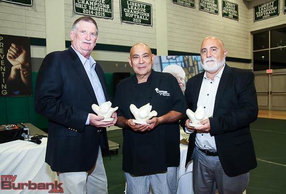 Honorees  this year were Gary Bric , Alan Arzoian and The Luis Lara Family, (Photo by Ross A. Benson)