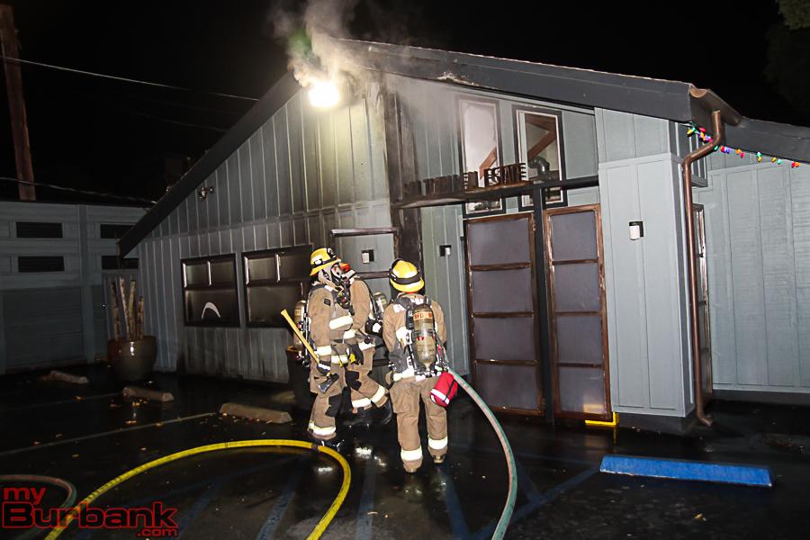 BFD Bldg Fire 4417 W Magnolia