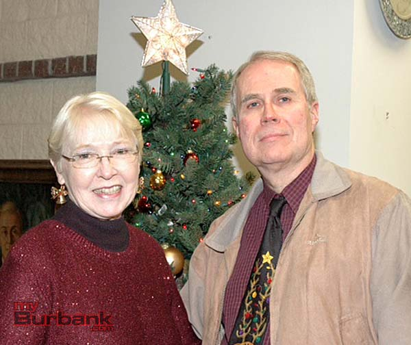 Husband and wife volunteers are Myriel and Jim Tyree.