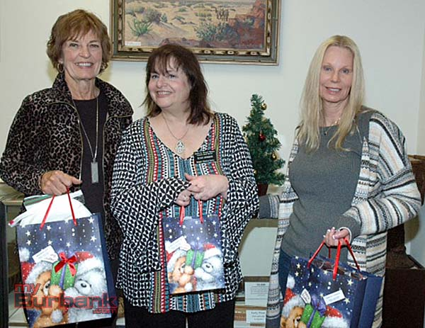 Gordon R. Howard Museum docents are, from left, Brenda Elliott, Susan Hodgson and Kimberly Hendrix.