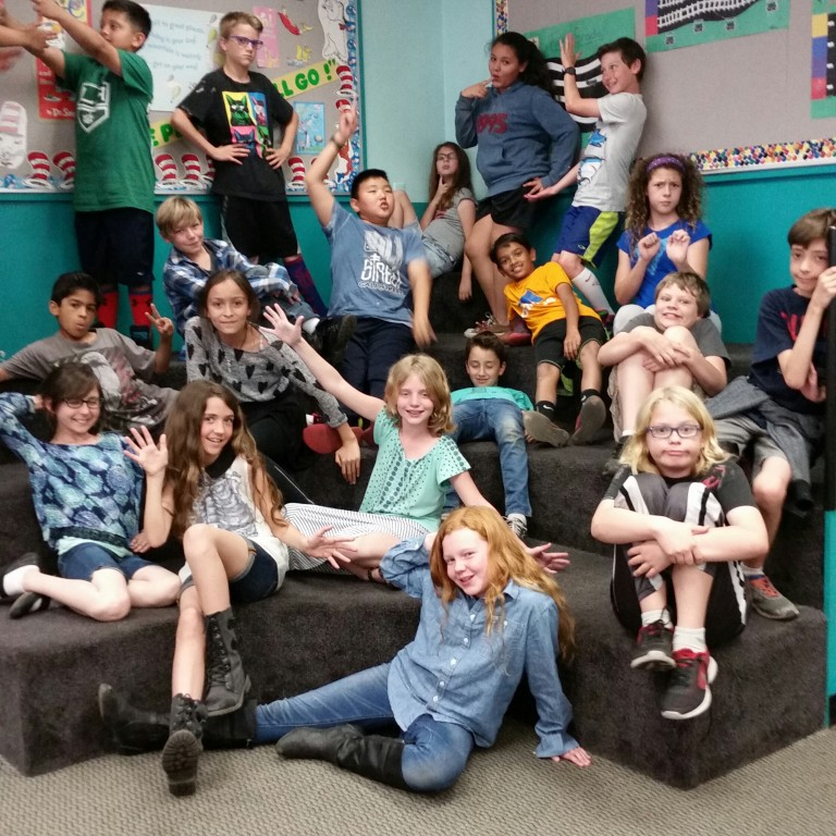 Roosevelt fifth-graders are set to perform at Flappers. (Photo Courtesy of Steve Saracino)