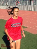 Emily Virtue Burroughs cross country and track