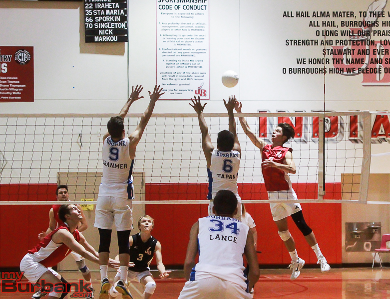 JBHS vs BHS Boys Volleyball 4-1-16