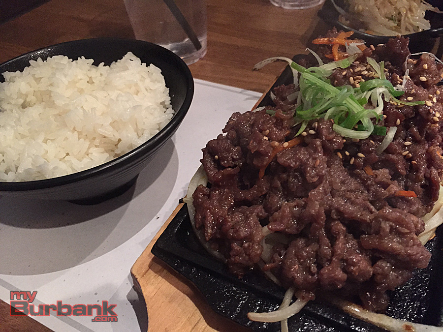 Sizzling Bulgogi BBQ beef. (Photo By Lisa Paredes)