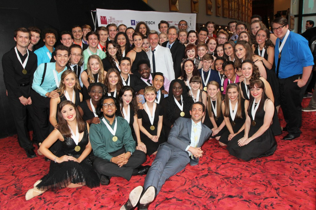 The 2016 National High School Musical Theatre Awards Red Carpet at the Minskoff Theatre in New York City on June 27, 2016.  Photo Courtesy of Henry McGee