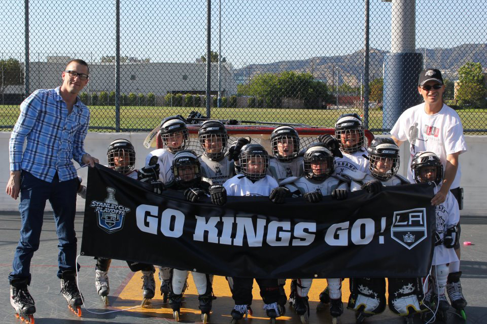 Hockey Go Kings Banner