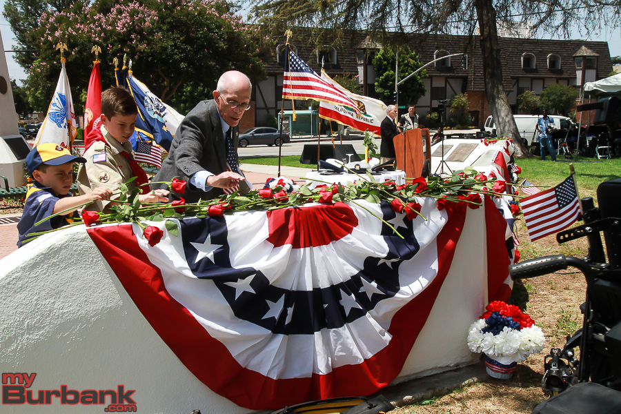 Memorial Day Ceremonies Burbank
