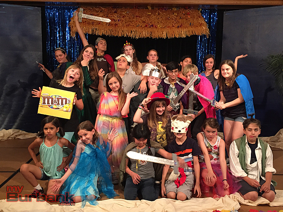 "Burbank Youth Summer Theatre Institute 2016 presents Shakespeare's ""The Tempest."" (Photo By Lisa Paredes)"