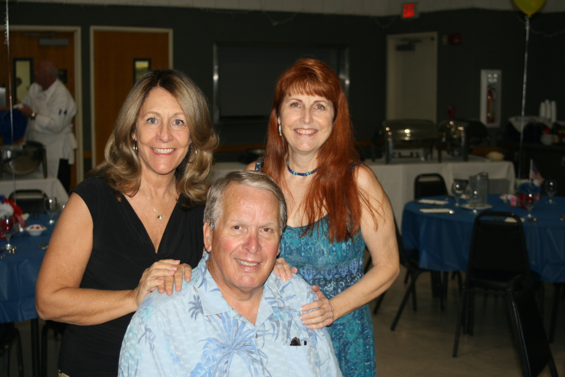 Organizers of the Burbank Police Boys Band reunion are, from left, Joanne Lento Miller, Bill Kuzma and Joyce Rudolph. (Courtesy Joanne Miller)