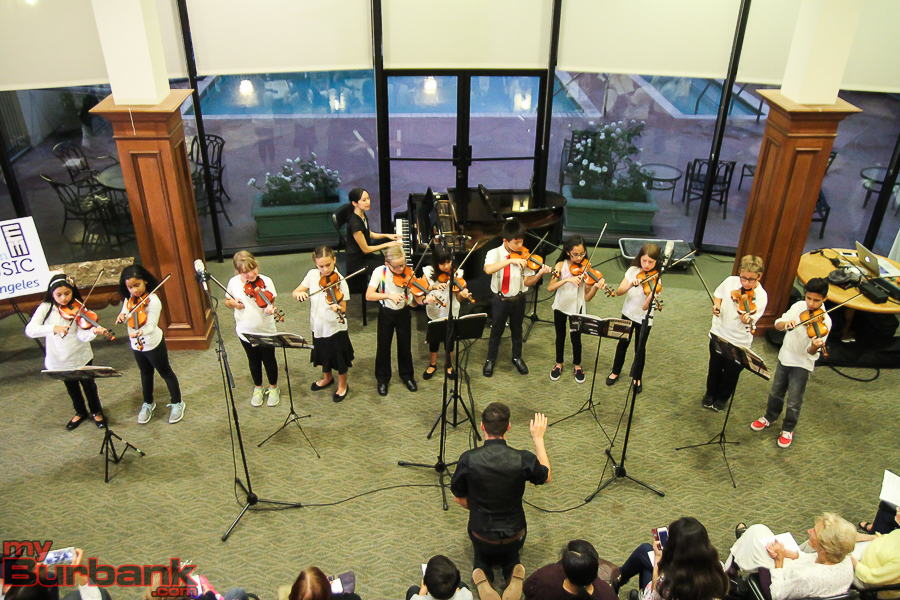 Providencia Elementary string players. (Photo by © Ross A Benson)