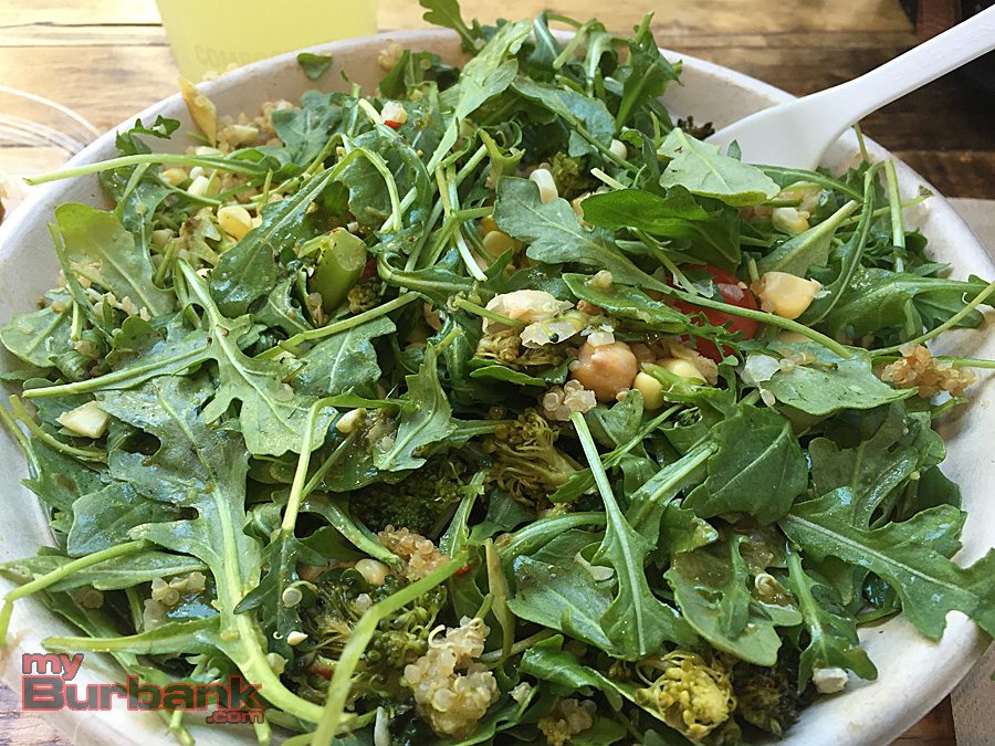 Fresh local ingredients fill this salad from Sweetgreen Nolita. (Photo By Lisa)Paredes