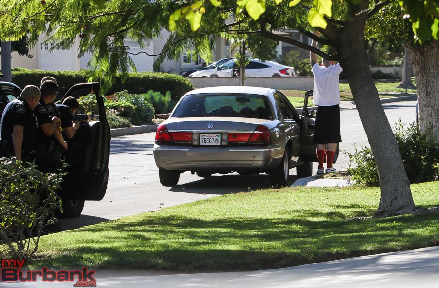 BPD Felony Stop 4300 Jacaranda 484 Suspects (© Ross A. Benson)