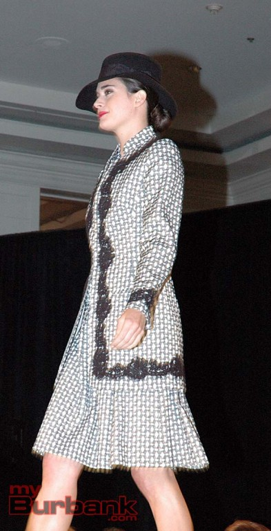 Model wears a style from the Lourdes Chavez collection.