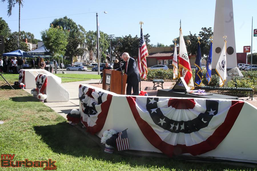 Veterans Day Ceremonies McCambridge PK  (© Ross A. Benson)