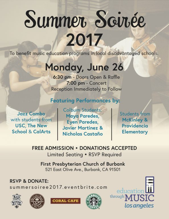 summer music soiree 2017