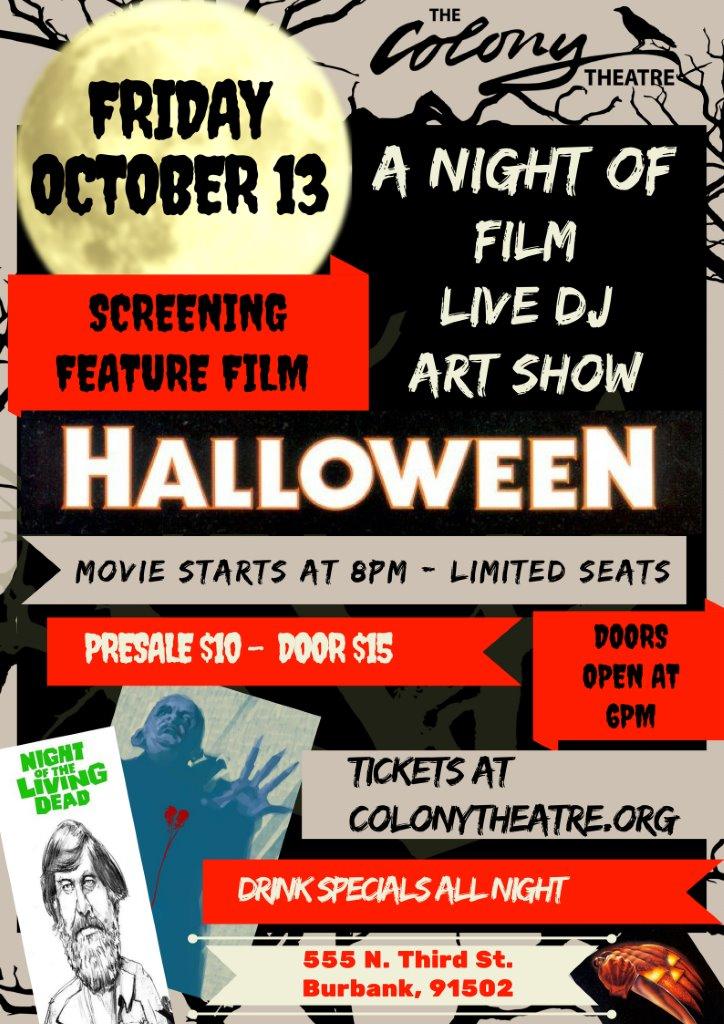 Colony Theatre Screens
