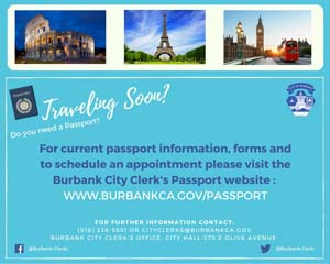 City Clerks Passport Service
