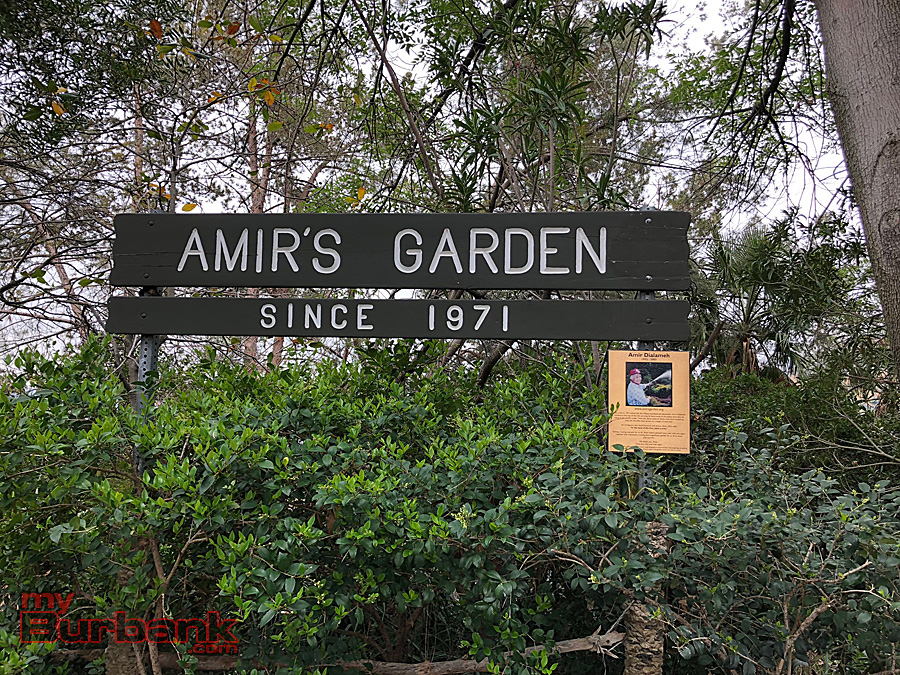 amirs garden is a green oasis on a hilltop in griffith park photo by lisa paredes - Amirs Garden